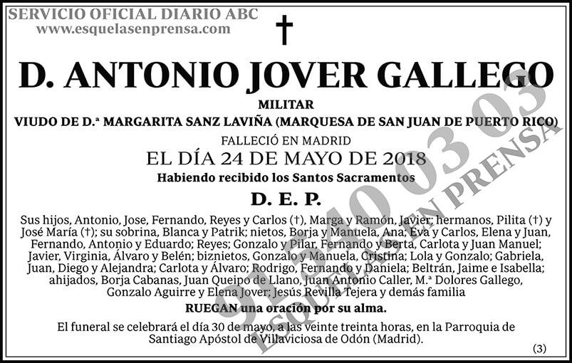 Antonio Jover Gallego